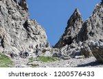 lechtaler alps  austria  ... | Shutterstock . vector #1200576433