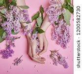 fashion art hands natural... | Shutterstock . vector #1200582730