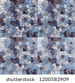 Stones  Pattern. Vector ...