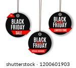 black friday sale banner... | Shutterstock .eps vector #1200601903