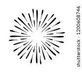 vintage sunburst explosion.... | Shutterstock .eps vector #1200608746