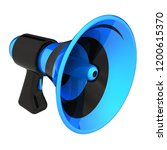 blue bullhorn stylish ... | Shutterstock . vector #1200615370