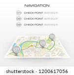 location icon map. road... | Shutterstock .eps vector #1200617056