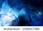 dark blue vector pattern in... | Shutterstock .eps vector #1200617380