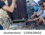 luang prabang  laos   october 8 ... | Shutterstock . vector #1200628603