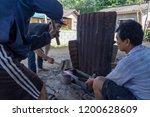 luang prabang  laos   october 8 ... | Shutterstock . vector #1200628609