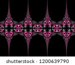 a hand drawing pattern made of... | Shutterstock . vector #1200639790