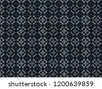 a hand drawing pattern made of... | Shutterstock . vector #1200639859