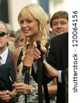 paris hilton at the ceremony... | Shutterstock . vector #120064156