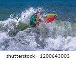 jaco beach  costa rica  october ... | Shutterstock . vector #1200643003