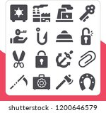 collection of 16 steel filled...   Shutterstock .eps vector #1200646579
