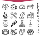 collection of 16 instrument... | Shutterstock .eps vector #1200647170