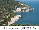 the dramatic coastline of the... | Shutterstock . vector #1200654466