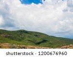 mountains roads daytime forest... | Shutterstock . vector #1200676960