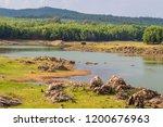 mountains roads daytime forest... | Shutterstock . vector #1200676963