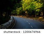 mountains roads daytime forest... | Shutterstock . vector #1200676966