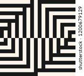 vector geometric lines pattern. ...   Shutterstock .eps vector #1200679129
