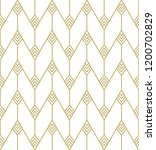 seamless geometric pattern.... | Shutterstock . vector #1200702829