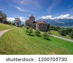 aerial view of lichtenstein... | Shutterstock . vector #1200705730