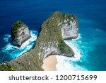 top view of karang dawa bay ... | Shutterstock . vector #1200715699
