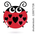 Love Ladybug With Hearts...