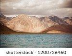 pangong lake in ladakh  north... | Shutterstock . vector #1200726460