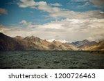 pangong lake in ladakh  north... | Shutterstock . vector #1200726463