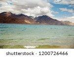 pangong lake in ladakh  north... | Shutterstock . vector #1200726466