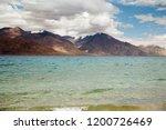 pangong lake in ladakh  north... | Shutterstock . vector #1200726469