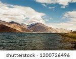 pangong lake in ladakh  north... | Shutterstock . vector #1200726496