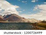 pangong lake in ladakh  north... | Shutterstock . vector #1200726499