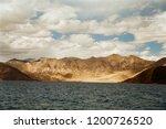 pangong lake in ladakh  north... | Shutterstock . vector #1200726520