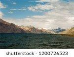 pangong lake in ladakh  north... | Shutterstock . vector #1200726523