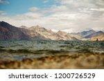 pangong lake in ladakh  north... | Shutterstock . vector #1200726529