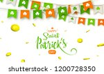 irish holiday   happy saint... | Shutterstock .eps vector #1200728350