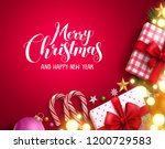 christmas vector background... | Shutterstock .eps vector #1200729583