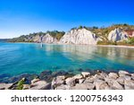 Toronto, Scenic Scarborough Bluffs facing Ontario lake shore