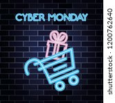 cyber monday shop | Shutterstock .eps vector #1200762640