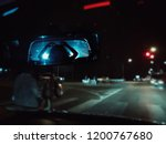 scary ghost woman in rear view... | Shutterstock . vector #1200767680