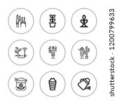 soil icon set. collection of 9...   Shutterstock .eps vector #1200799633