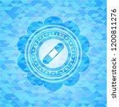 bandage plaster icon inside sky ... | Shutterstock .eps vector #1200811276