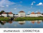 nymphenburg palace  schloss...   Shutterstock . vector #1200827416