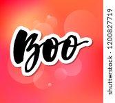 slogan boo phrase graphic...   Shutterstock .eps vector #1200827719