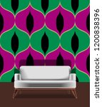 seamless retro pattern in the... | Shutterstock .eps vector #1200838396
