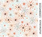 Botanical Floral Texture