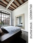 Stock photo beautiful house interior view of the bedroom 120084760