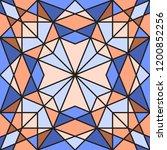 geometric seamless pattern. ...   Shutterstock .eps vector #1200852256