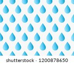 drops pattern. endless... | Shutterstock .eps vector #1200878650