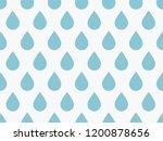 drops pattern. endless... | Shutterstock .eps vector #1200878656