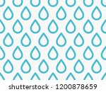 drops pattern. endless... | Shutterstock .eps vector #1200878659